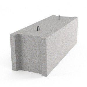 Фундаментный блок стеновой 12-4-3