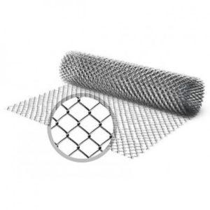 Сетка плетеная 10х10х1 оцинкованная (рабица)