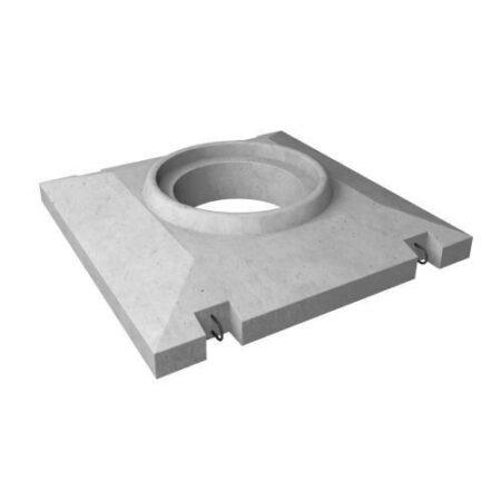 Опорная плита УОП-6 (с люком)