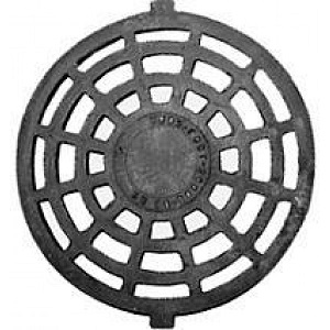 Решетка чугунная круглая