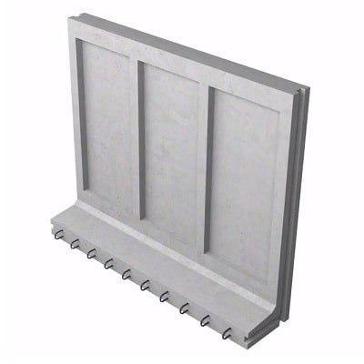 Стеновой блок КС-25д