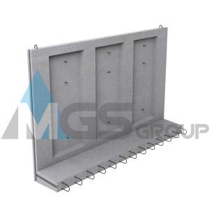 Стеновые блоки коллекторов